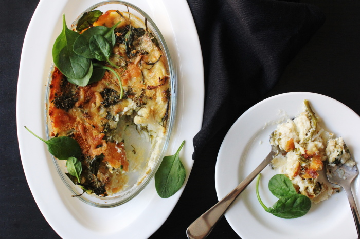 cauliflower broccoli gratin