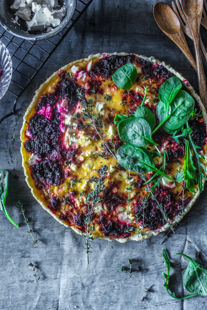 Beetroot-And-Feta-Tart