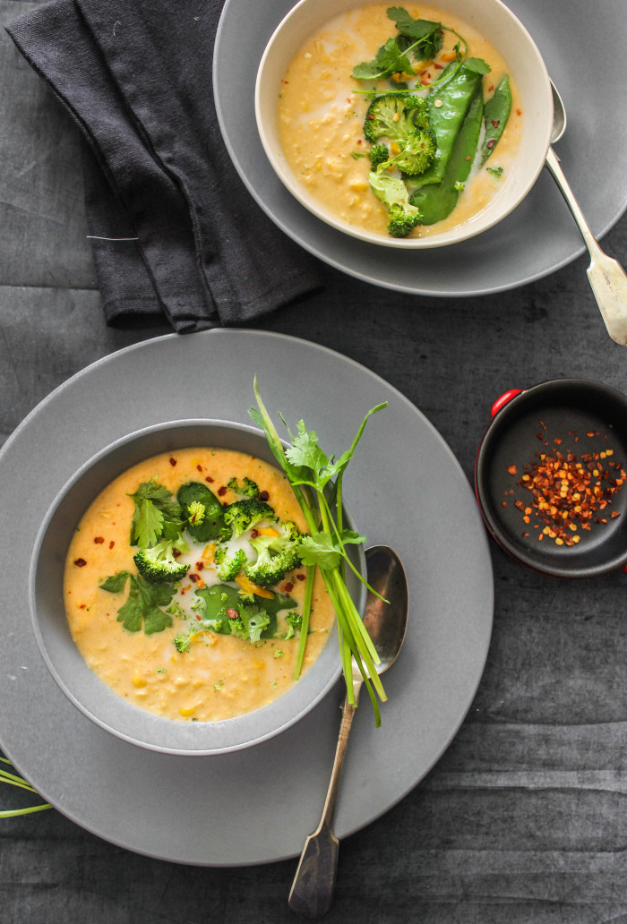 Spicy-Thai-Corn-Soup-With-Greens