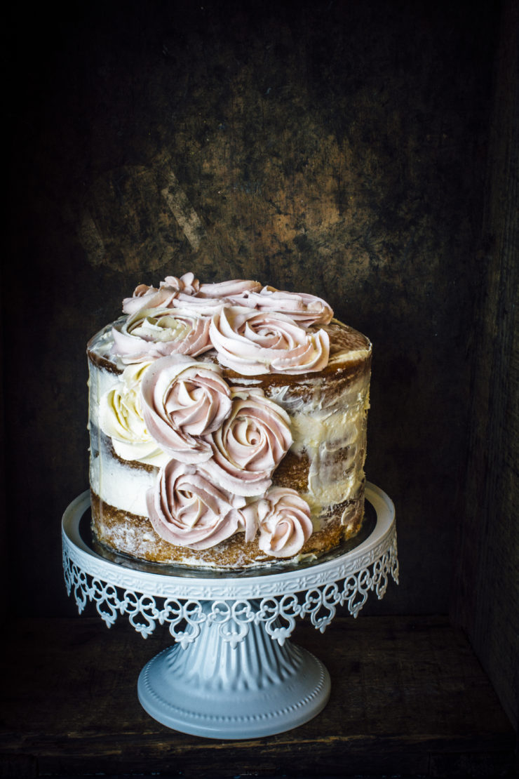 Earl Grey Birthday Cake