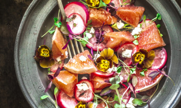 Pickled Radish And Grapefruit Salad