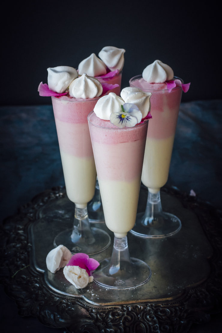 Rose And White Chocolate Mousse
