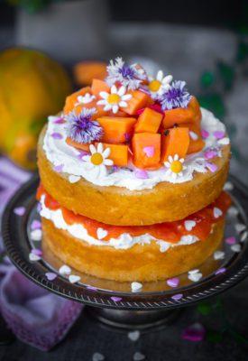 papaya lover's cake